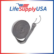 9.1m Central Vacuum Knitted Hose Sock Cover with Application Tube by LifeSupplyUSA