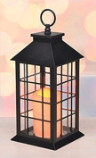 Gravidus decorative Lantern with LED Candle, 3 different Designs - Design 3