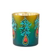 Peacock Tea Light Holder