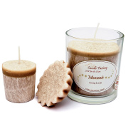 Candle Factory Scented Candles - Set of 3 Party Lights and Votive Scented Melt - Spicy & Sweet
