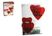 Ladies Lady Women Woman Her - Low Cost Great value Heart Shaped Tea Light Candle Holders - Show Them Your Romantic Side - Perfect for Secret Santa Stocking Fillers Xmas Christmas Birthday Valentines Anniversary Gift Present Idea - One Supplied