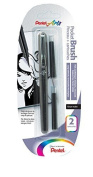 PentelArts Brush Pen includes 2 Refills by Pentel Arts