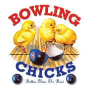 Bowling Chicks Towel by Master