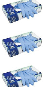 Curad Powder-Free Nitrile Exam Gloves, Large, 200 Count Pack of 3