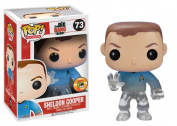 Funko POP Television Sheldon Star Trek Blue Shirt Vinyl Figure