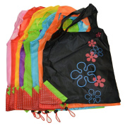 Reusable Shopping Bag,Foldable Canvas Tote Eco Grab Bag with Handles,Grocery Shopping Bags