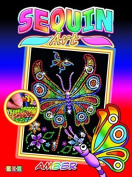 Sequin Art Red, Butterfly, Sparkling Arts and Crafts Picture Kit, Creative Crafts by Sequin Art