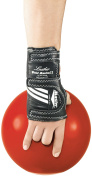 Master Industries Wrist Master II Leather Bowling Gloves, Medium, Right Hand