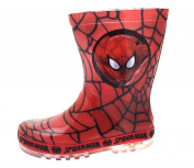 Boys SPIDER MAN Wellies with Flashing Lights
