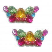Lizzy Multicoloured Shoe Clips