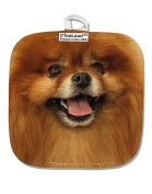 TooLoud Adorable Pomeranian B White Fabric Pot Holder Hot Pad All Over Print