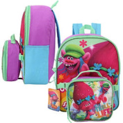 Dreamworks Trolls Small Backpack with Lunch Bag - 30cm