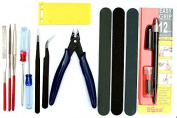Gundam Modeller Basic Tools Craft Set For Car Model Assemble Building Kit by Alemon