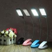 Bazaar LED Flexible USB Reading Lamp Clip-on Desk Table Bed Laptop Light