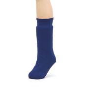 CastCoverz! Fashion and Designer Leg Cast Cover Keeps Short and Long Casts and Braces Clean, Stops Snagging and Scratching. Made in USA - in Navy - Medium Short