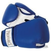 ProForce Leatherette Boxing Gloves w/Red Palm