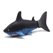 VKOPA Mini Remote Control Toy Electric RC Fish Boat Shark Swim in Water for Kids Gift