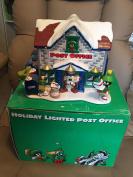 Warner Bros Looney Tunes Light up Marvin Martian Taz Post Office Village House