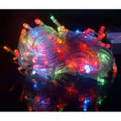 HDE Linkable LED String Lights Holiday Home Fairy Multifunction Wedding College Dorm Room Craft Decoration Expandable Rope Lights