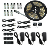 Inspired LED - Light Strip - Cut and Connect Kit - Normal Bright Cool White 6000K - 39.5 ft / 12M - Strip Lighting LED - Dimmable led