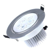 DacawinLED Ceiling Downlight Spotlight Lamp Bulb Light 85-265V Warm White 5W