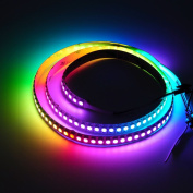 BTF-Lighting RGBW RGBNW Natural White SK6812 (Similar WS2812B) 3.3ft 1m 144leds/pixels/m Individually Addressable Flexible 4 colour in 1 LED Dream Colour LED Strip Non-waterproof DC5V