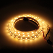 BTF-Lighting RGBW RGBWW Warm White SK6812 (Similar WS2812B) 3.3ft 1m 60leds/pixels/m Individually Addressable Flexible 4 colour in 1 LED Dream Colour LED Strip Waterproof IP67 DC5V