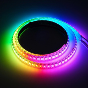 BTF-Lighting RGBW RGBNW Natural White SK6812 (Similar WS2812B) 3.3ft 1m 144leds/pixels/m Individually Addressable Flexible 4 colour in 1 LED Dream Colour LED Strip Waterproof IP65 DC5V
