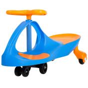 Lil' Rider Wiggle Car Ride On, Blue/Orange