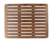 LCM Home Fashions Bamboo Bath Mat