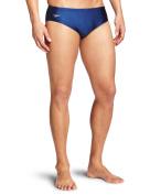 Speedo Men's PowerFLEX Eco Solid Brief Swimsuit