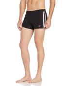 Speedo Men's PowerFLEX Eco Shoreline Square Leg Swimsuit