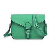 Gleader Vintage Lady Women PU Leather Cross Body Satchels Shoulder Bag Handbag Purse