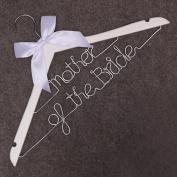 Father of the Bride Wire Hanger Bride Hanger-Last Name Hanger,Mrs Hanger- Wedding Hanger, Personalised Hanger, Gift for bride, bridemaid,girlfriend