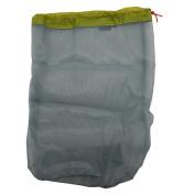 Ultra Light Mesh Stuff Sack Storage Bag Travel Camping Hiking Drawstring Bag - Large