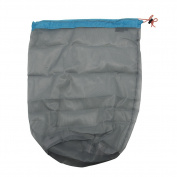 Ultra Light Mesh Stuff Sack Storage Bag Travel Camping Hiking Drawstring Bag - Small