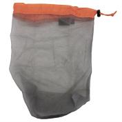 Ultra Light Mesh Stuff Sack Storage Bag Travel Camping Hiking Drawstring Bag - Medium
