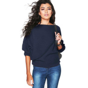 Women Sweater, Familizo Batwing Sleeve Knitted Pullover Loose Jumper Tops Knitwear Autumn 2016