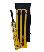 CW Junior Cricket Kid Set In Plastic Yellow