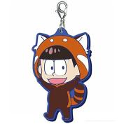 Most lottery Osomatsu's go out will I Award Kemomatsu's rubber mascot Osomatsu with us (Red Panda) separately