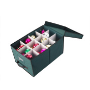 Elf Stor Christmas Ornament & Lights Storage Chest Holds 24 Balls w/ 10cm Dividers or Light Reels hold up to 120m of lights
