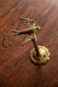 Vagabond Vintage, Gold Pewter Bird Hook