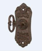 Skeleton Key Cast Iron Coat Wall Hook and Key Rack