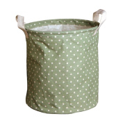 Andux Cotton Fabric Collapsible Laundry Basket Dirty Clothes Hamper Toy Storage Organisation Laundry Hampers ZYL-02