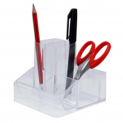 Desk Organiser Pen Stand Holder Clip Pencil Table Stationery Office Supplies