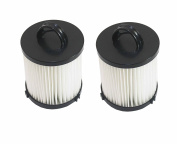 Pack of 2 Replacement Eureka DCF-21 (DCF21) Washable & Reusable Allergen Filters Eureka Part #'s 67821, 68931, 68931A, EF91, EF-91, & EF-91B