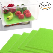 Dualplex Fruit & Veggie Life Extender Liner for Refrigerator Drawers (2 Pack) – Extends the Life of Your Produce & Prevents Spoilage, 38cm X 60cm
