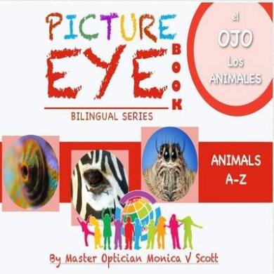 Los Animales A-Z: Libro de Los Ojos Con Las Pinturas