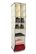 7 Shelf Hanging Wardrobe Organiser