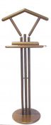 Hagspiel Valet Stand, Coat-Stand, Beech Wood Natural Varnish